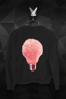 FailFake - Bluza Różowa Żarówka Męska
