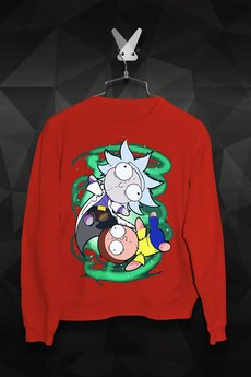 - Bluza Szmaciany Rick i Morty Męska