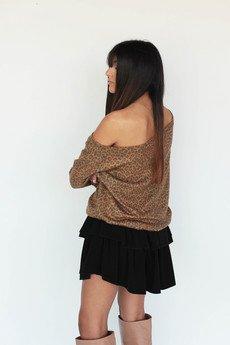 - Sweter Ninka Panther One shoulder