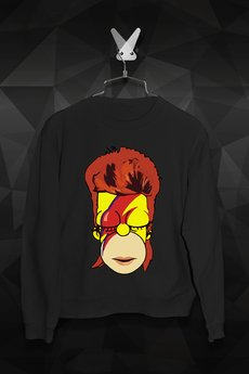 - Bluza Bowie Simpsons Męska