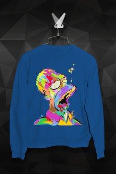 FailFake - Bluza Malowany Homer Męska