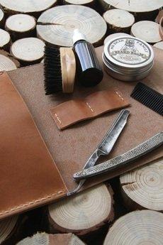 Woodsman Craft - Bear Kit - męski przybornik skórzany, ręcznie szyty