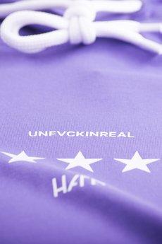 HARP TEAM - Bluza Hoodie Classic Unfvckinreal Violet