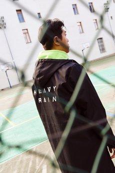 MAJORS - Płaszcz przeciwdeszczowy Heavy Rain
