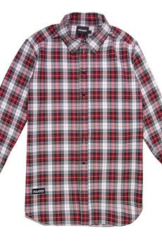 MAJORS - grid shirt