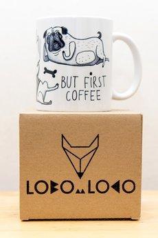 "Lobo Loco - Kubek z kotami ""Jesteś super"""