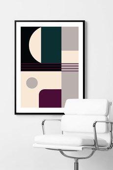 goorska - MID-CENTURY 2 - minimalistyczny plakat filmowy
