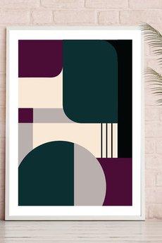- GALERIA MID-CENTURY  - minimalistyczne plakaty geometryczne