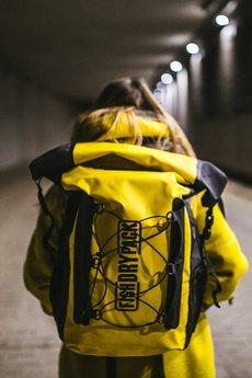 dce96383788b8 Plecak Explorer 40l Yellow - Żółty | Fish Dry Pack | Plecaki Unisex ...