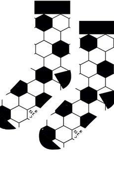 Sox in the Box - Motyw Piłki Nożnej - Skarpetki