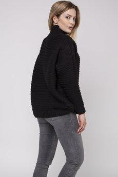 MKM swetry - Szeroki półgolf, SWE162 czarny MKM