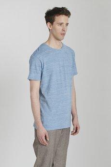 Delikatessen - Koszula Jasno Błękitna z Japońskiego Jerseyu