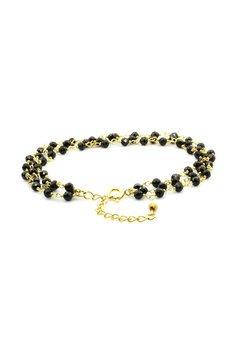 Brazi Druse Jewelry - Bransoletka Spinel Potrójna złoto
