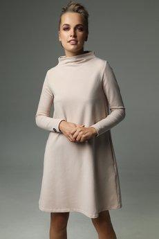 Madnezz - Sukienka Moss - Nude