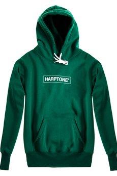 HARP TEAM - Bluza Hoodie Classic Harptone Green