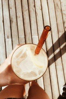 Bala-Lifestyle - Słomki szklane Bala Glass Straw Short 15 cm