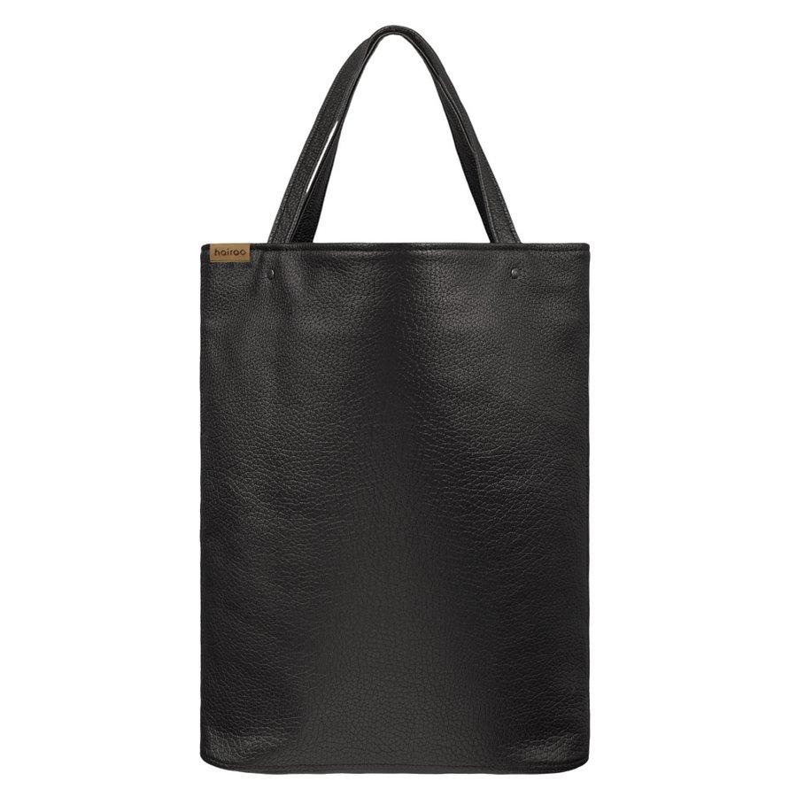 feae20ac Mega Shopper Bag Czarna Teksturowana Torba Oversize Vegan - Czarny ...