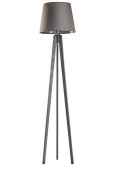LYSNE - CURACAO lampa stojąca E27 popielaty