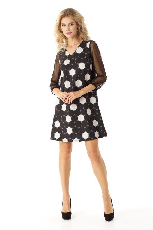 3fac279699 Sukienki Rękaw 3 4 Sukienki Eleganckie Sukienki Wizytowe Sukienki Tiulowe  Sukienki Trapezowe