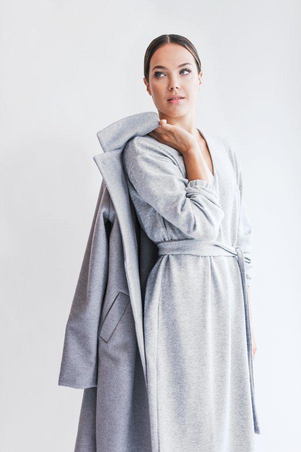 Wełniana Bluzka Pleasure Grey Szary | True Color By Ann