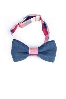 r3s men's accessories - MUCHA LNIANA GOTOWA BLUE-RED LINEN