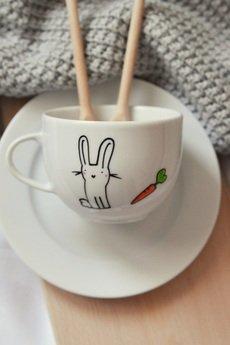 My Mug Company - KRÓLIK FILIŻANKA