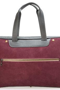 ef4663f8ab79d MacBooka)  Emilia Arendt - Ręcznie szyta skórzana torba damska na laptopa ( np.