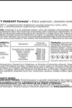 ZOJO Beauty Elixirs - The Beauty Pageant Formula