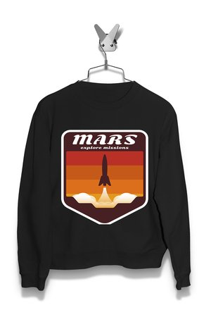 Bluza Mars Space Mission Damska