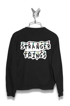 Bluza Światełka Stranger Thing Damska