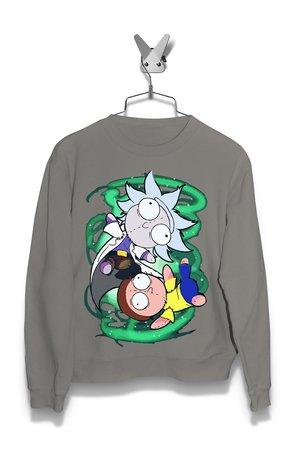 Bluza Szmaciany Rick i Morty Damska
