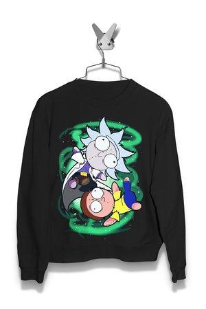 Bluza Szmaciany Rick i Morty Męska