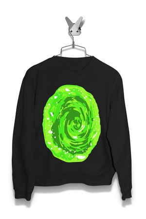 Bluza Zielony Portal Damska