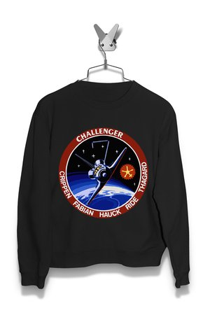 Bluza Space Shuttle Mission STS-7 Challenger Męska