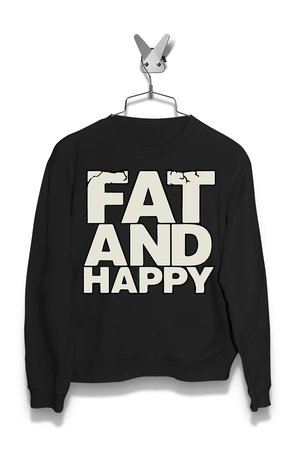 Bluza Fat and Happy Męska