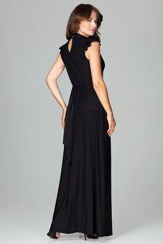 LENITIF - Sukienka K486 Czarny