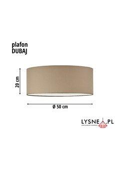 LYSNE - DUBAJ  lampa sufitowa fi - 50 cm
