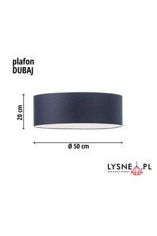 LYSNE - DUBAJ plafoniera + denko fi - 50 cm