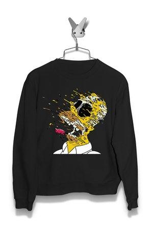 Bluza Rozpadający się Homer Damska