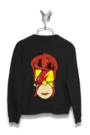Bluza Bowie Simpsons Damska