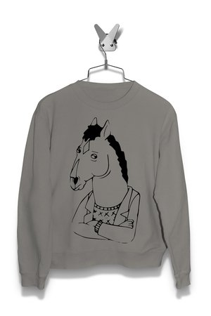 Bluza Obrażony BoJack Damska