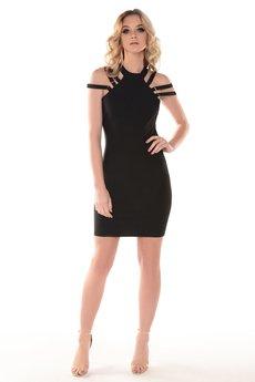 Kelly Couronne - Sukienka czarna Martine