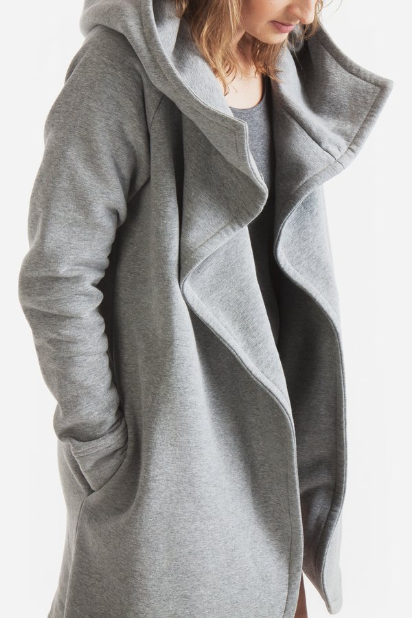 bluza z kapturem płaszcz