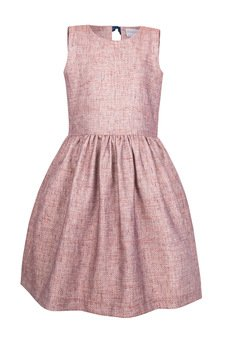 aQademia - Sukienka z wiązaniem z tyłu