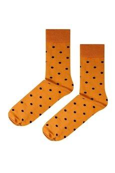 Soxstory - Skarpetki Mustard Dots