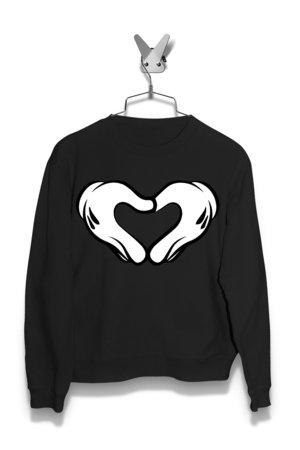 Bluza Mickey Mouse Heart Damska