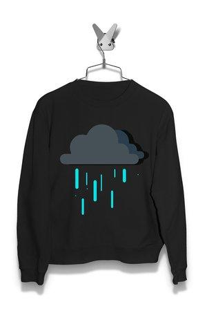 Bluza Deszczowe Chmurki Damska
