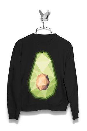 Bluza Geometryczna awokado Damska