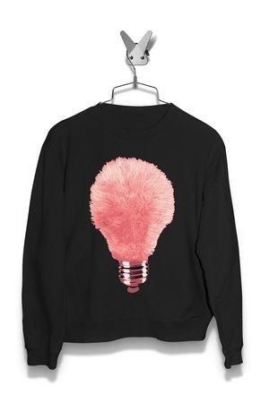 Bluza Różowa Żarówka Damska
