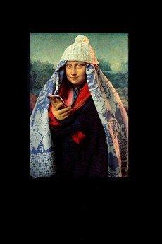 "Life is ART - T-shirt : "" Mona-Lisa ""4"